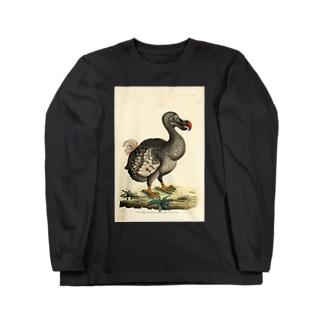 絶滅したドードー鳥 Long sleeve T-shirts