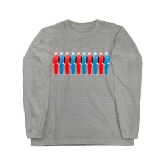 UN兄弟 ずらり ロングスリーブTシャツ