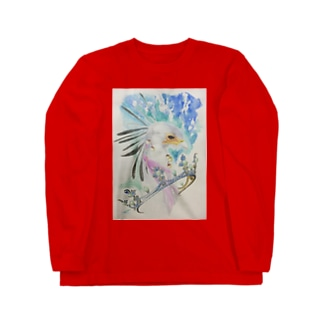 凛と輪 Long sleeve T-shirts