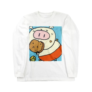 ぶ~たん Long sleeve T-shirts