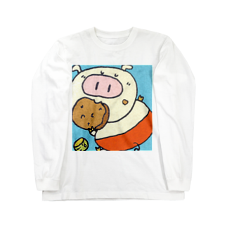 YONEのぶ~たん Long sleeve T-shirts