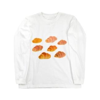 空飛ぶロールパン Long sleeve T-shirts