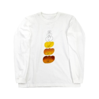 パンが焼けるまで Long sleeve T-shirts