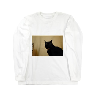 tdkjdesignのくしゅん Long sleeve T-shirts