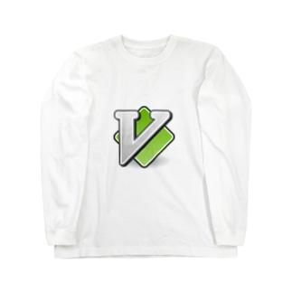 Vim Long sleeve T-shirts