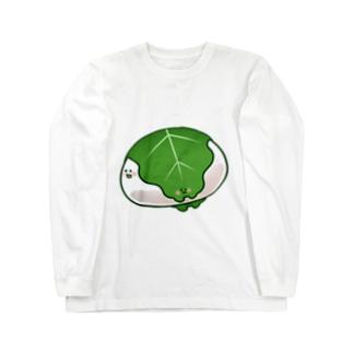かしさんもちさん Long sleeve T-shirts