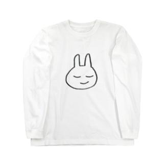 ぴょんこの悟り Long sleeve T-shirts