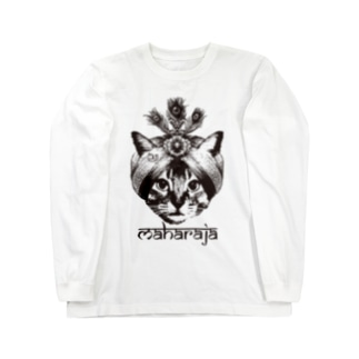 Nobigao マハラジャキャット Long sleeve T-shirts