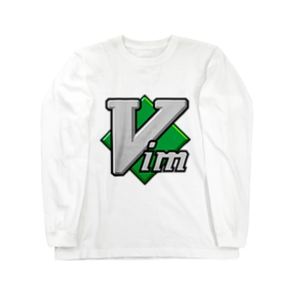 Vim Long sleeve T-shirts