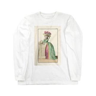 マリーアントワネット時代のファッション Long sleeve T-shirts