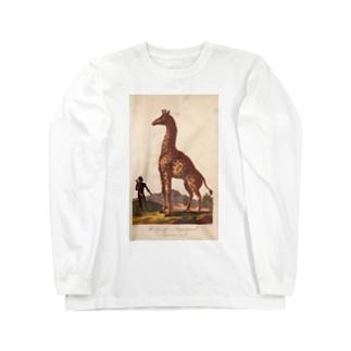 『博物学の普遍的システム』 Long sleeve T-shirts