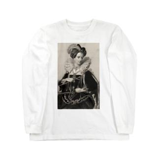 英国女王エリザベスⅠ世 Long sleeve T-shirts