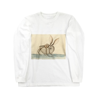オウムガイ Long sleeve T-shirts