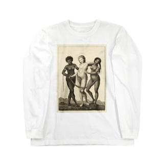 3大美女 Long sleeve T-shirts