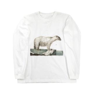 白クマ Long sleeve T-shirts