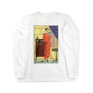 モダンガール Long sleeve T-shirts