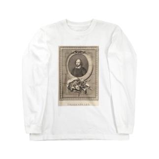 ウィリアム・シェイクスピア Long sleeve T-shirts