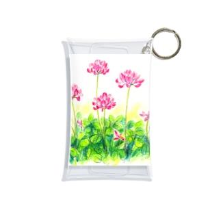 レンゲ草 Mini Clear Multipurpose Case
