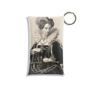 英国女王エリザベスⅠ世 Mini Clear Multipurpose Case