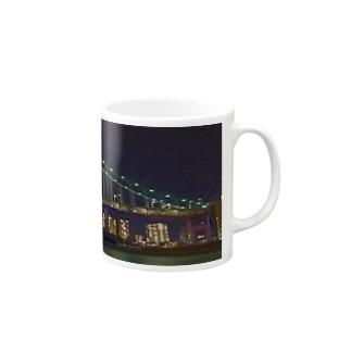 レインボーブリッジ Mugs