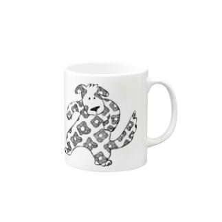 ハナガライヌくん Mugs