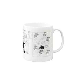 月刊タニシ最強巻貝伝説名場面劇場マグカップ マグカップ