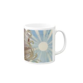 朝と夜を隔てる Mugs