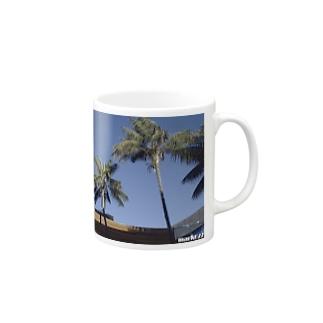 Los Angeles Malibu Palm Tree Mugs
