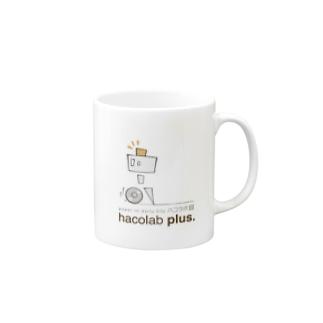 hacolab plus イチゴウくん Mugs