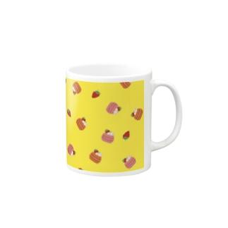 マカロン柄 Mugs