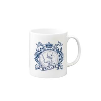 妊婦マーク(エンブレム) マグカップ