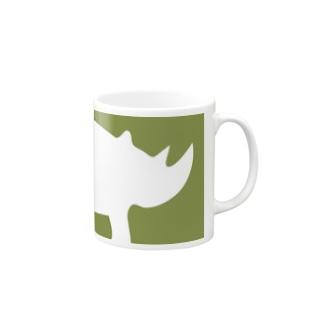 サイのひとb Mugs