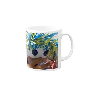 カラフル節分鬼 Mugs