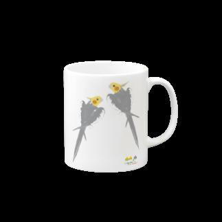 LittleLoroのノーマルオカメインコ ごきげんポーズ中 Mugs
