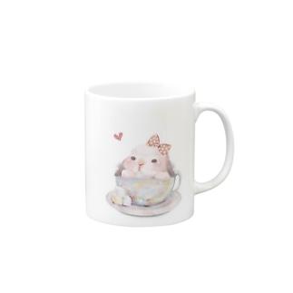 teacup*うさちゃん Mugs