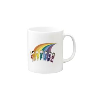 タカエラの七色の人 Mugs