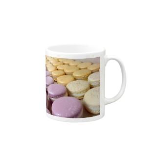 Love Macaroon Mugs