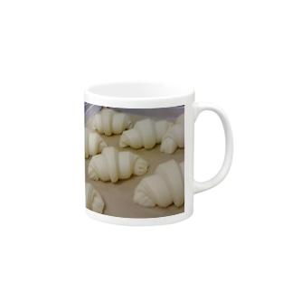 Love Croissant No4 Mugs