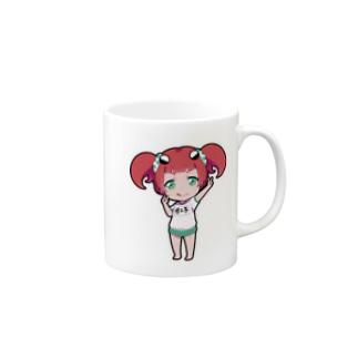 ちびガニ子 Mugs