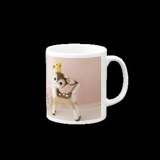 potaのバンビとひよこ Mugs
