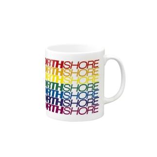 NORTH SHORE rainbow Mugs