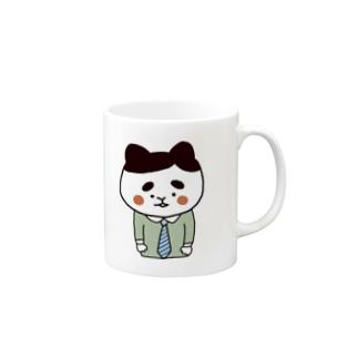 サラリーにゃん マグカップ