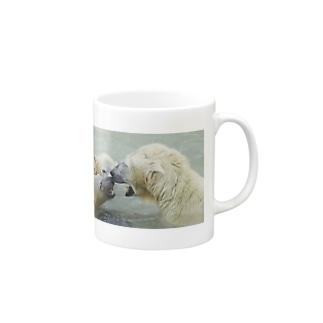 シロクマ親子 Mugs