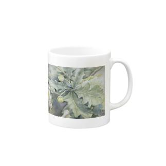 イングリッシュオークの妖精マグ Mugs