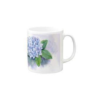 リラの紫陽花 Mugs