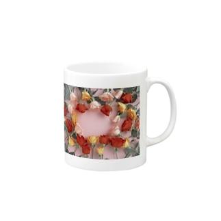 薔薇バラ Mugs