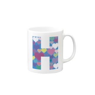 ネシェリのHOKUTOのH Mugs