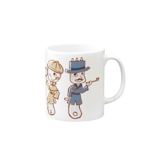 スプーン探偵と助手フォーク Mugs