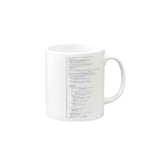 ソースコード(Objective-C) Mugs