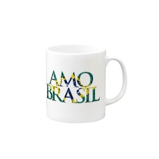 AMO BRASIL Mugs